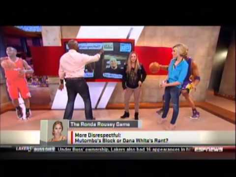 Women MMA champ Ronda Rousey on Sportsnation