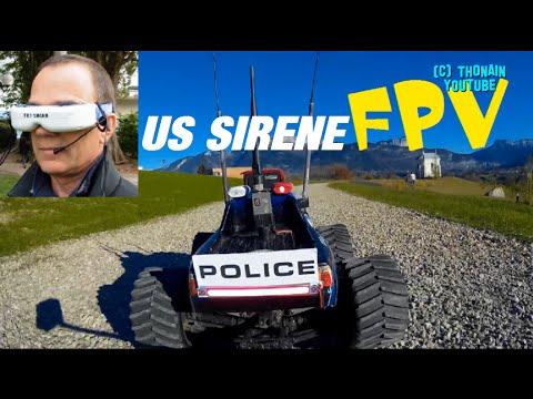 FPV RC CAR SIREN - TRAXXAS RUNCAM ONBOARD - LONG RANGE UAV