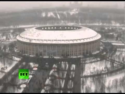 Шествие и митинг 23 февраля в Лужниках