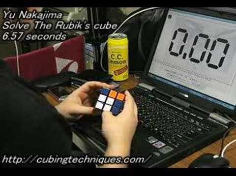 Rubik s Cube: 6.57 seconds