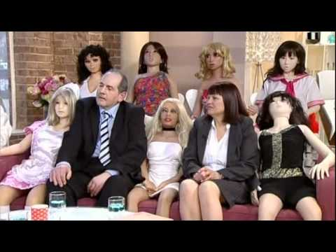 Man And His Sex Dolls On This Morning (love Dolls) - 30th March 2011 video