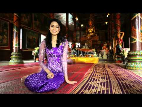Stock Footage - Asian Girl Praying In Temple - Cambodia 10 | VideoHive