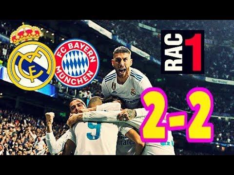 AUDIO RAC1 | REAL MADRID 2-2 BAYERN DE MUNICH | COMPLETO thumbnail