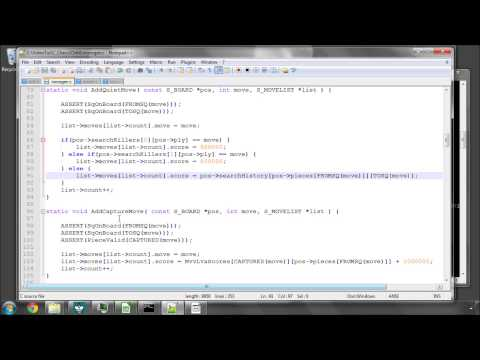 Programming A Chess Engine in C Part 64 - Move Ordering - Killer, History Heuristics, PV Move