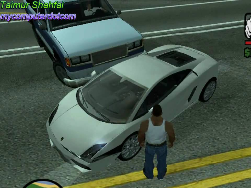 Gta San Andreas Lamborghini Cheat pc Gta San Andreas Lamborghini