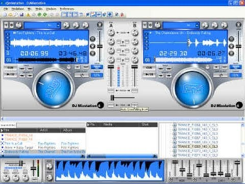 Скачать dj ejay mixstation 3. Программа dj ejay mixstation 3 представляет с