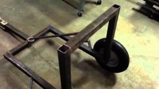 ATV Log Skidder