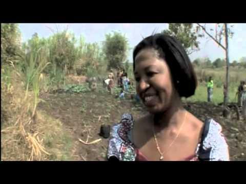 Empowering women in Africa through entrepreneurship. A Malawian shows us how -- through farming.