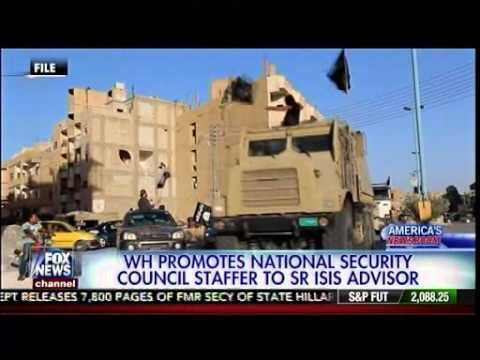 White House Promotes National Security Council Staffer To Sr ISI.S Advisor - America's Newsroom