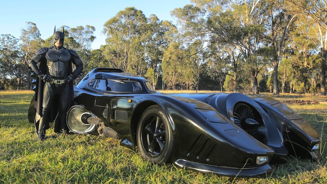Real Life Batmobile Man Spends Two Years Building Iconic
