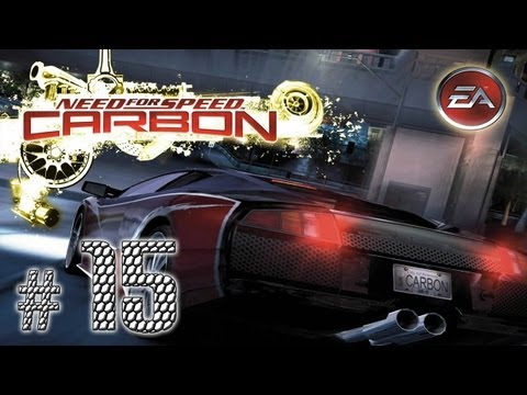 "Let's Play: Need for Speed Carbon - cz. 15 - ""Niedobra żó�ta Corvetta"""