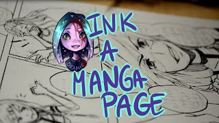 ? Speedpaint ? Drawing Manga Page - G Pen [#001]