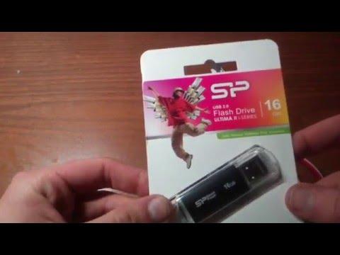 Обзор USB флеш накопителя, флешка Silicon Power Ultima II I-Series 16GB