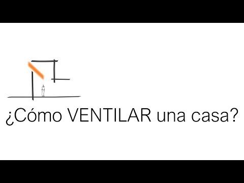 ¿Cómo ventilar una Casa? - Tutorial - Arquitecto Martín Bonari