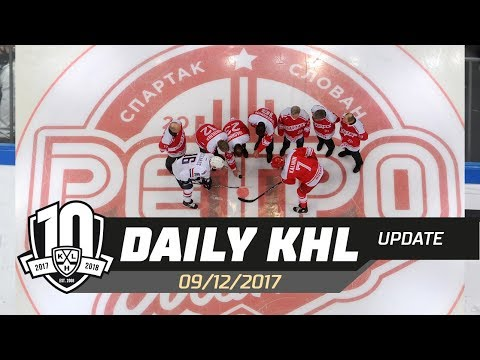 Daily KHL Update - December 9th, 2017 (English)