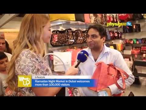 Ramadan Night Market in Dubai welcomes more than 100,000 visitors