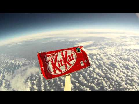 Kit Kat Goes To Space! #BreakFromGravity...