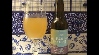 #351 Buxton Brewery | Far Skyline Dry-Hopped Berliner Weisse 4.9%ABV (English Craft Beer)