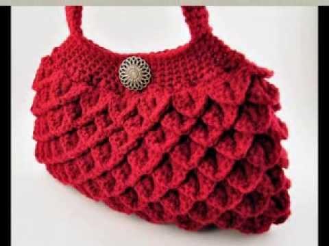 Beautiful Crochet Bags : Crochet Beautiful Bags - YouTube