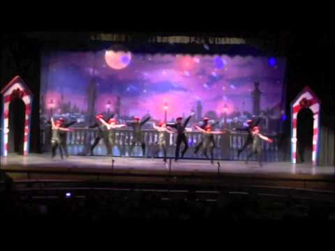 Members of the Central Islip High School Show Choir join together with ...
