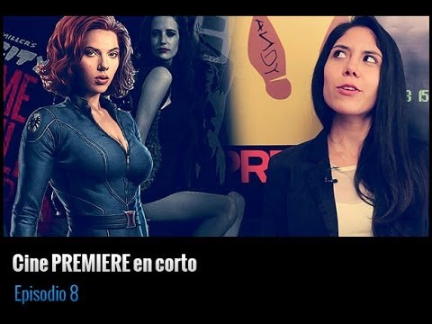 Cine PREMIERE en corto: Scarlett Johansson & The Avengers 2, Sin City 2, Metástasis y más