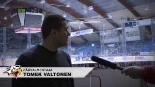 Sport-TV: Päävalmentaja Tomek Valtonen summaa kautta 2014-2015
