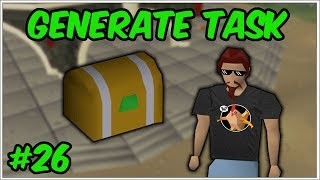 The fastest clue task ever - GenerateTask #26