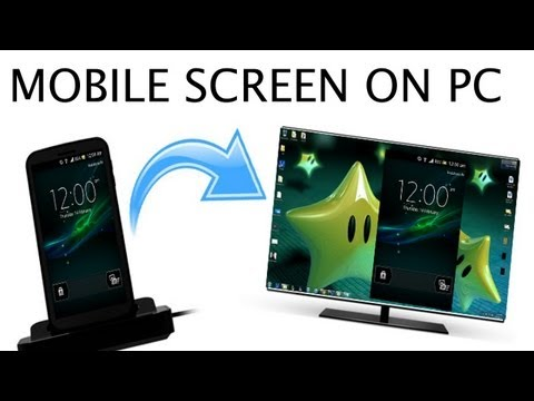 How to Display/Record Android Screen on PC/Laptop/Mac -EASIEST WAY!