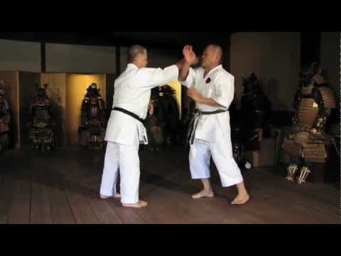 Worlds Karate Legend MORIO HIGAONNA Goju-ryu Master 10th Dan (pt.2)