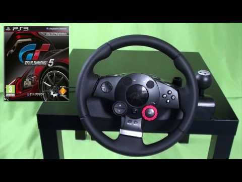 Logitech Driving Force GT Review [Deutsch/German]
