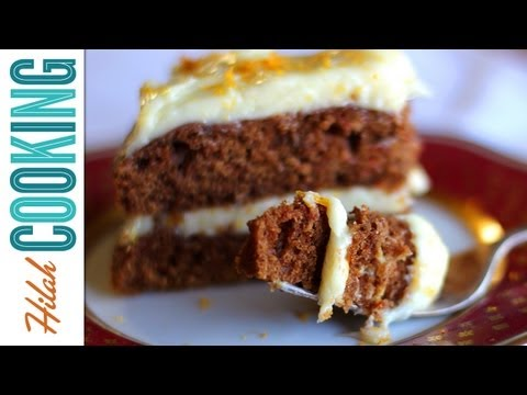 Carrot Cake with Cream Cheese Maple Icing