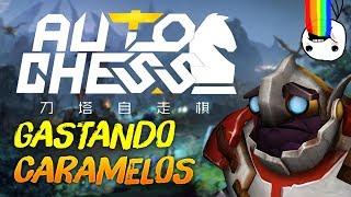 GANANDO Y GASTANDO CARAMELOS (Nuevo Courier) 🍬| Dota Auto Chess