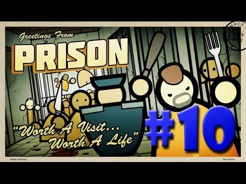 Prison Architect - A SEGURANÇA DA SEGURANÇA MÁXIMA!!! #10 (Gameplay / PC / PTBR) HD