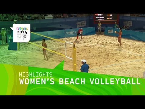 Women's Beach Volleyball - Highlights | Nanjing 2014 Youth Olympic Games