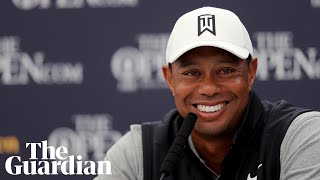 Tiger Woods admits his game is 'not as sharp as I'd like it' ahead of The Open