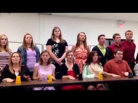 "North Callaway high school choir ""The Cup Song"" 2013-2014"