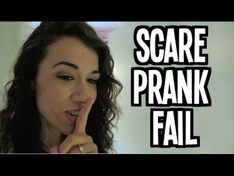 Scare Prank FAIL - (Day 22 of Fall-Log-Mas)