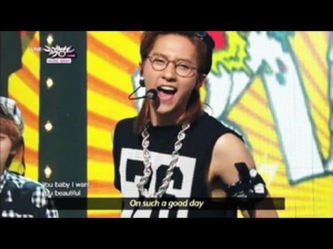 B1A4 - What's Happening? (2013.06.15) [Music Bank w/ Eng Lyrics]