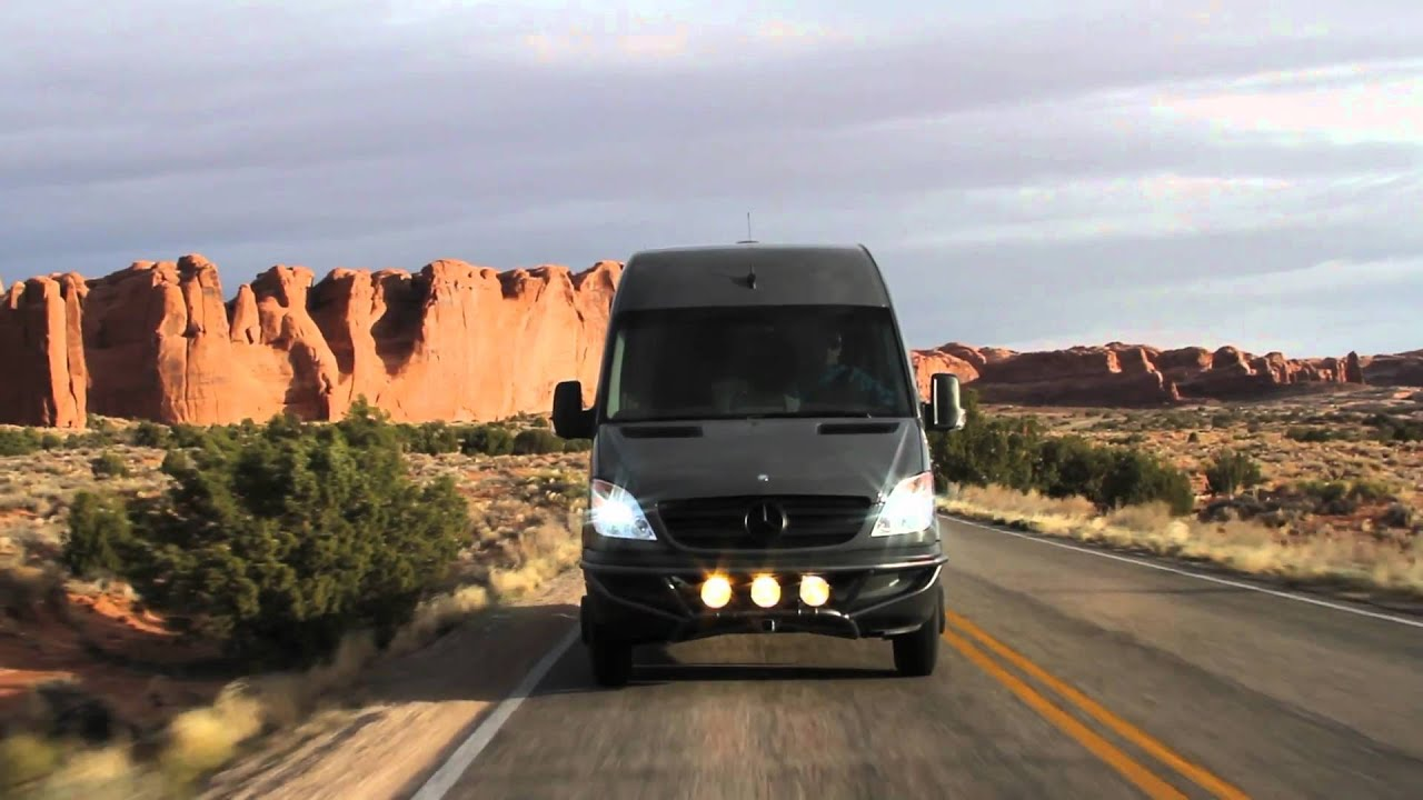 Sprinter Adventure Van >> OSV Utah/Colorado Adventure   170 3500 Mercedes Benz Sprinter - YouTube