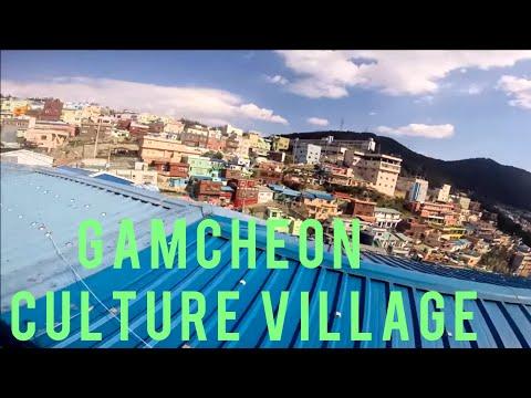 TRAVEL VLOG | Gamcheon Culture Village, Busan, South Korea