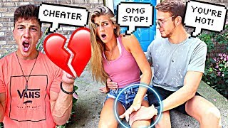I Made My Brother FLIRT With My Girlfriend To See How She Would React *prank*
