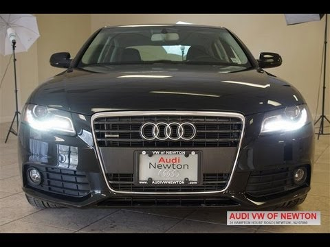 2010 Audi A4 2.0T B8 Quattro Premium Plus Audi Newton Review - YouTube