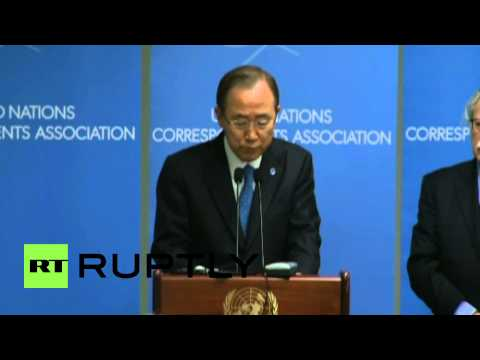 USA: 'Attack on Charlie Hebdo is a trap to divide' - Ban Ki-moon