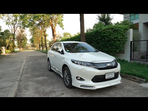 2014 Toyota Harrier Hybrid รีวิว