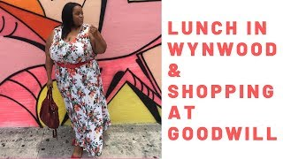Spend the day with me: Lunch in Wynwood and Goodwill Miami