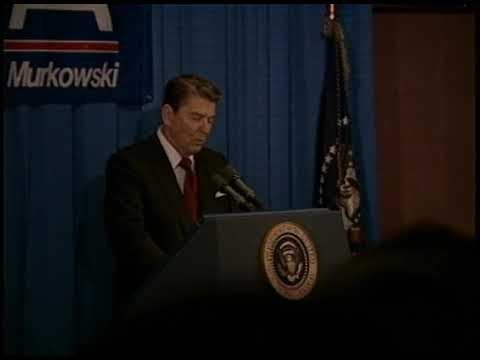 President Reagan's Remarks at Reception for Frank Murkowski on March 6, 1986