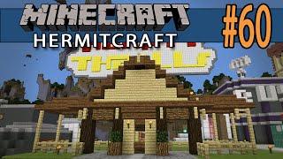 Minecraft Theme Ride at Hermit Thrills! - Hermitcraft #60