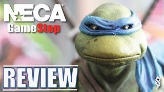 NECA Gamestop Exclusive: Teenage Mutant Ninja Turtles - Leonardo (Toy Review 2019)