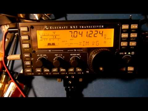 Elecraft KX3 printing RTTY sans computer