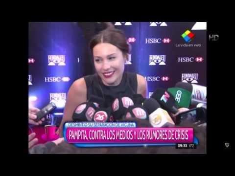 """La furia de Pampita con la prensa: """"¿Por qué vamos a aclarar mentiras?"""""""